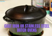 cast iron vs stainless steel dutch oven