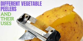 different vegetable peelers