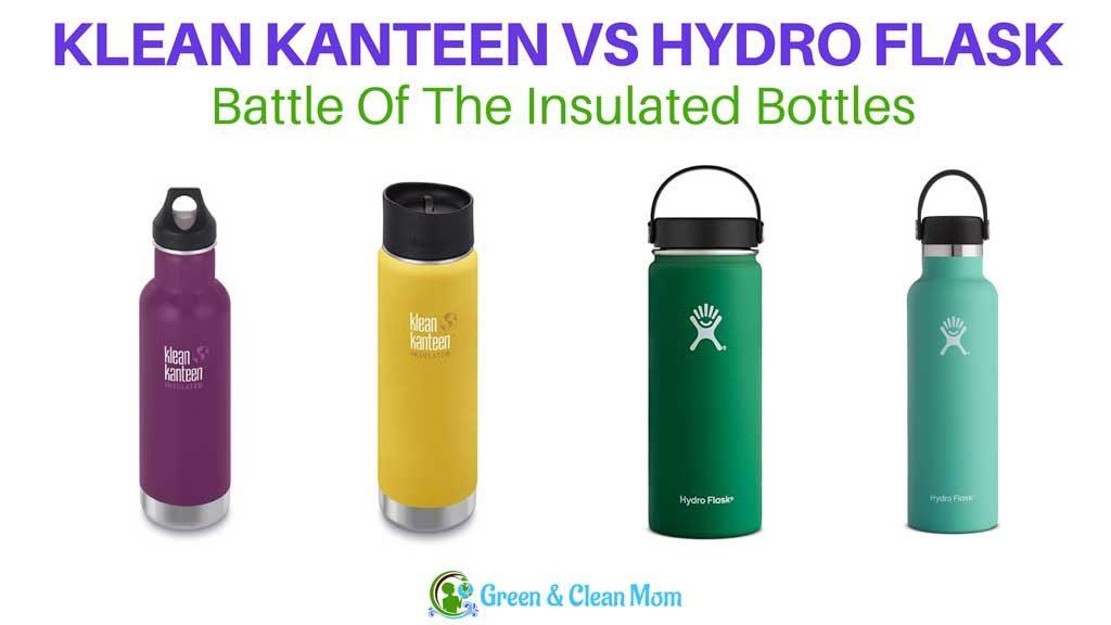 klean kanteen hydro flask comparison
