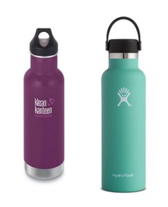 klean kanteen hydro flask features